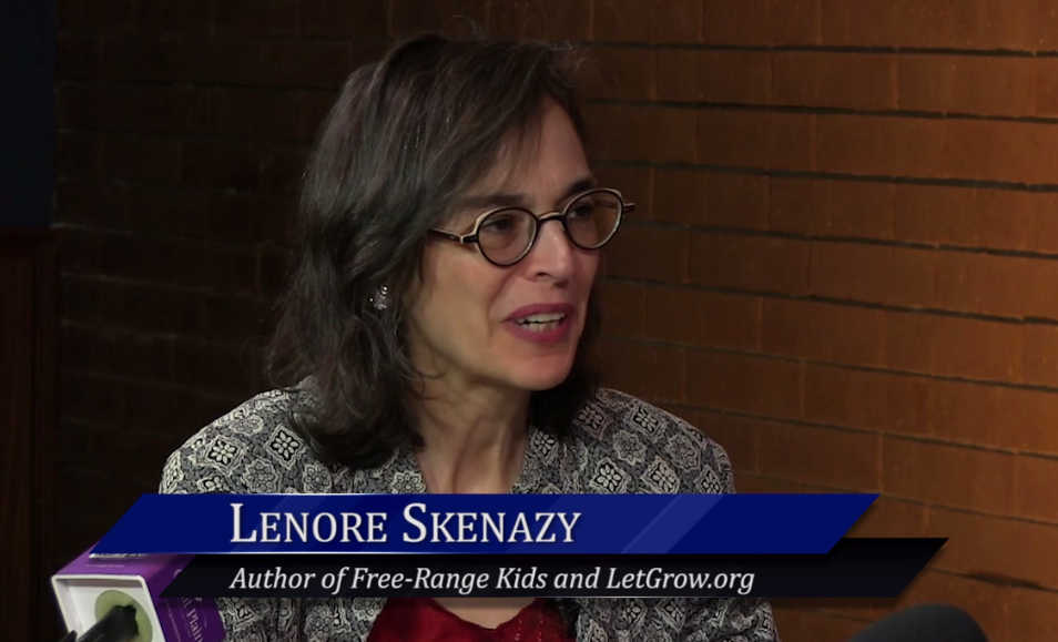 "WichitaLiberty.TV: Author Lenore Skenazy, ""America's Worst Mom"""
