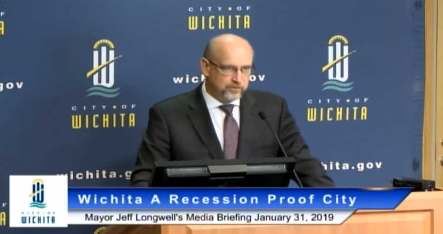 Wichita mayor promotes inaccurate picture of local economy