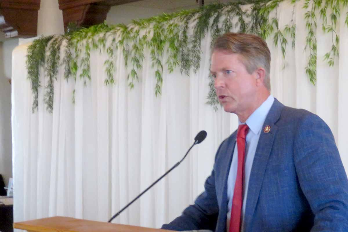 From Pachyderm: Representative Roger Marshall